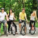 Radfahrer, Gruppe